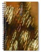 Christmas Card - Jingle Bells Spiral Notebook