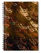 Christmas Card - The Manger Spiral Notebook