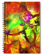 Christmas Chaos  Spiral Notebook