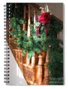 Christmas Garland Spiral Notebook