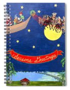 Christmas Greetings Spiral Notebook