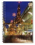 Christmas In Dublin, Henry Street At Spiral Notebook