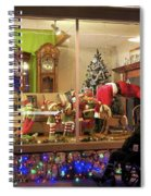 Christmas In Rochester Spiral Notebook