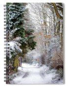 Christmas On The Chase Spiral Notebook
