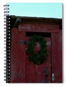 Christmas Out House The Perfect Gift For Those On The Go Spiral Notebook
