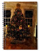 Christmas Past Cpwc Spiral Notebook
