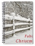 Christmas Path Spiral Notebook