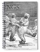 Christmas: Polar Bears Spiral Notebook