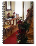 Christmas Rose And Stairs  Spiral Notebook