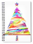 Christmas Tree Design Spiral Notebook