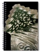 Christmas Tree Frozen In Time Spiral Notebook