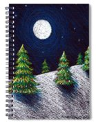 Christmas Trees II Spiral Notebook