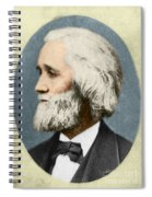 Christopher Sholes, American Inventor Spiral Notebook