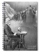 Christopher Sholes, American Inventor Spiral Notebook