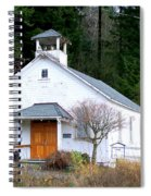 Christs Church At Elbe Washington Spiral Notebook