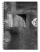 Chrome Atmosphere Spiral Notebook