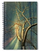 Chrome Forest Spiral Notebook