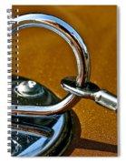 Chrome Lock Spiral Notebook