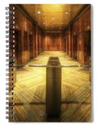 Chrysler Building Elevator Lobby Spiral Notebook