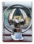 Chrysler Imperial Hood Ornament Spiral Notebook