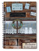 Chuck Wagon Spiral Notebook