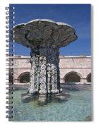Church And Convent Garden Spiral Notebook