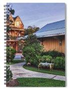 Church And Del La Mare Spiral Notebook