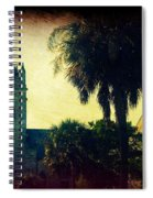 Church At Fort Moultrie Near Charleston Sc Spiral Notebook