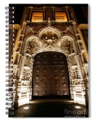 Church At Night Spiral Notebook