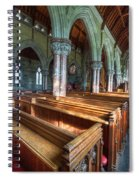 Church Benches Spiral Notebook