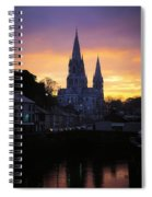 Church In A Town, Ireland Spiral Notebook