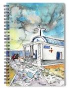Church In Cape Gkreko In Cyprus Spiral Notebook