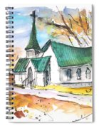 Church In Friars Point Mississippi Spiral Notebook