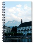 Church In Lucerne Spiral Notebook