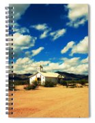 Church In Old Tuscon Arizona Spiral Notebook