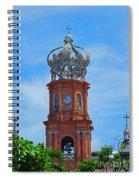 Church In Puerto Vallarta Spiral Notebook