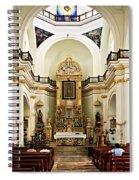 Church Interior In Puerto Vallarta Spiral Notebook