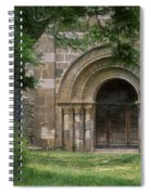 Church Of Bredons.cantal. France Spiral Notebook