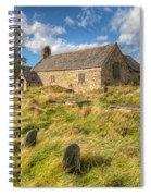 Church Of Celynnin Spiral Notebook