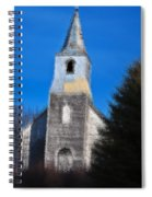 Church Of Days Gone By Spiral Notebook