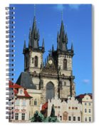 Church Of Our Lady Before Tyn Spiral Notebook