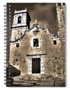 Church Of The Virgen De La Ermitana - Peniscola  Spiral Notebook