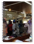 Church Service In Nigeria Spiral Notebook