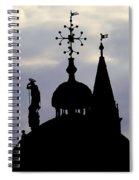 Church Spires Silhouettes Spiral Notebook