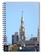Church Top San Francisco Spiral Notebook