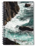 Churning Ocean Spiral Notebook