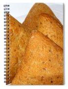Ciabatta Buns In A Basket Spiral Notebook