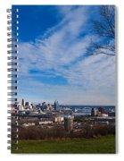 Cincinnati From Kentucky Spiral Notebook