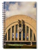 Cincinnati Museum Union Terminal Spiral Notebook