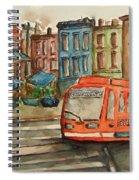 Cincinnati Streetcar Spiral Notebook